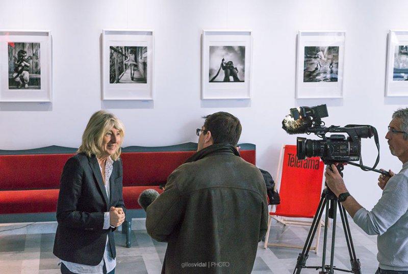 Ghislaine Gouby, directrice de Scènes du Golfe - Crédit : Gilles Vidal